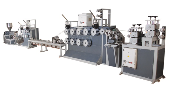 PP Box Strapping Line, Manual Box Strapping Line, Heat Sealable Strapping Line, Extruder
